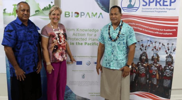 IUCN-SPREP signing ceremony 7 feb 2018, photo IUCN